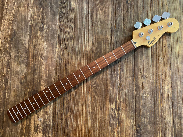 2002 Squier by Fender Affinity Series P-Bass Neck + Tuners | Maple w/ Rosewood