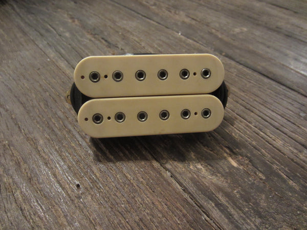 Vintage DiMarzio Dual Sound (Super Distortion) 4-Conductor Humbucker, Double Cream
