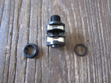 "¼"" Mono Jack w/ Black Plastic Nut (Amplifier)"