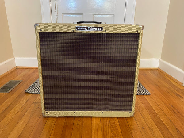 Peavey Classic 50 4 x 10 Combo | Tweed w/ Footswitch