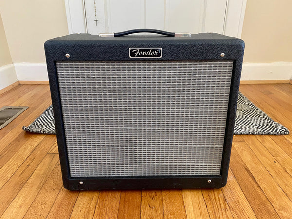 Fender Blues Junior | Very Clean, Sounds Great, New MOD Reverb Tank, Foot Switch
