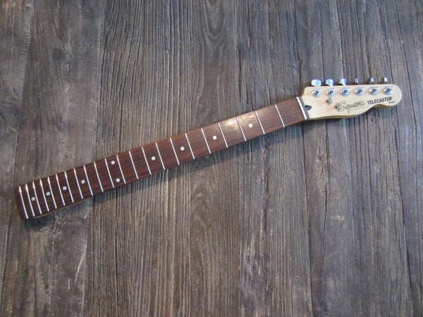 2002 Squier by Fender Standard Series Telecaster Neck | Maple w/ 22-Fret Rosewood Board