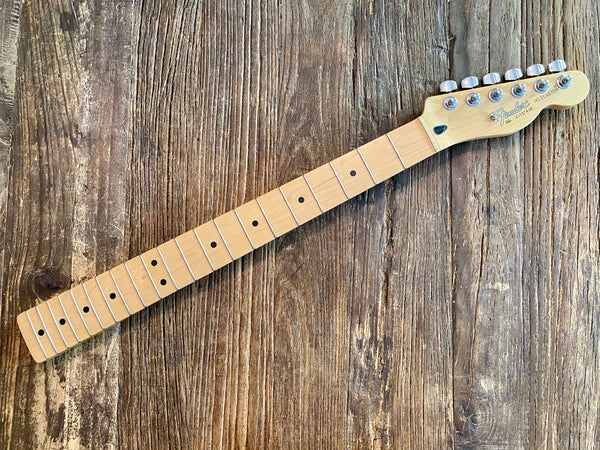 2001 Fender Standard Series Telecaster Neck + Tuners | Maple w/ Vintage Style Frets