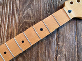 Modified 2001 Fender Standard Series Stratocaster Neck | Vintage Sized Frets, Maple Fretboard,
