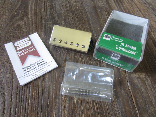 "Seymour Duncan TB-4 JB Trembucker w/ Nickel Cover | 9""+ 4-Conductor Lead, 17.92 kΩ"