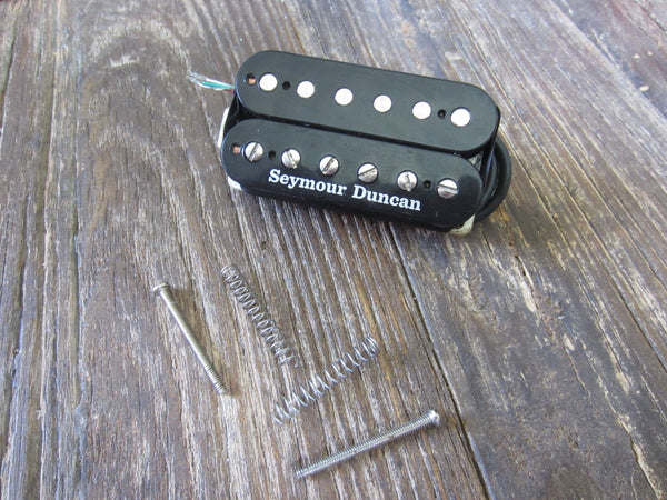 "Seymour Duncan SH-4 JB Humbucker | 11""+ 4-Conductor Lead, 17.15 kΩ DCR, Screws & Springs"