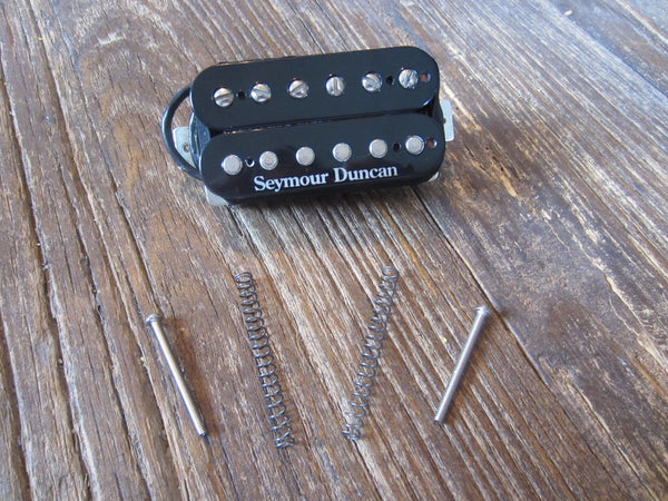 "Seymour Duncan SH-4 NECK JB Humbucker | Slug Coil Logo Neck Position, 10"" 4-Conductor Lead, 16.36 kΩ"