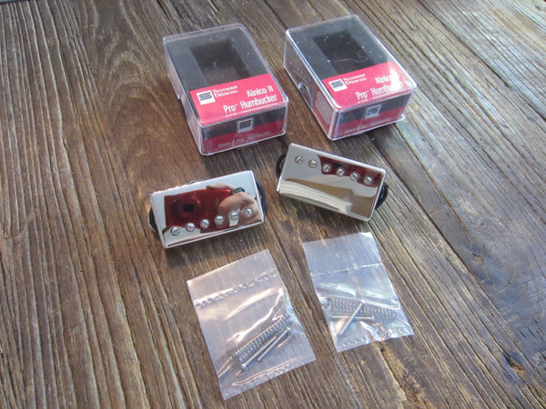 Seymour Duncan APH-1 AlNICo II Pro Set | Nickel Covers, Long 4-Conductor Leads