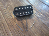 "Seymour Duncan SH-5 Custom Double Black Humbucker | 14.16 kΩ DCR, 12""+ 4-Conductor Lead"