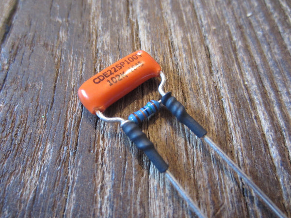 Orange Drop Treble Bleed Circuit | 225P Polyester .001µF Capacitor & 150 kΩ Resistor