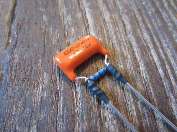 Orange Drop Treble Bleed Circuit | 716P Polypropylene .001µF Capacitor & 150 kΩ Resistor