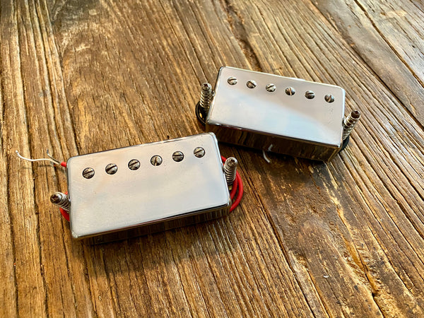 Epiphone 57CH Dot Pickup Set | Chrome Finish, Long Leads, Springs, Screws