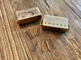Epiphone HOTCH / 57CH Les Paul Humbucker Set | Worn Gold, Long Leads, Springs, Screws