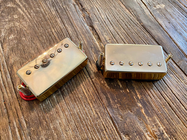 Epiphone HOTCH / 57CH Les Paul Humbucker Set | Gold, Long Leads, Springs, Screws
