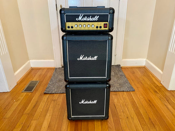 1989 Marshall Lead 12 Mini Stack | Great Condition, Celestion Speakers