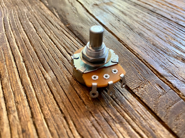 "Potentiometer | 3/8"" Bushing / .25"" Solid Shaft 
