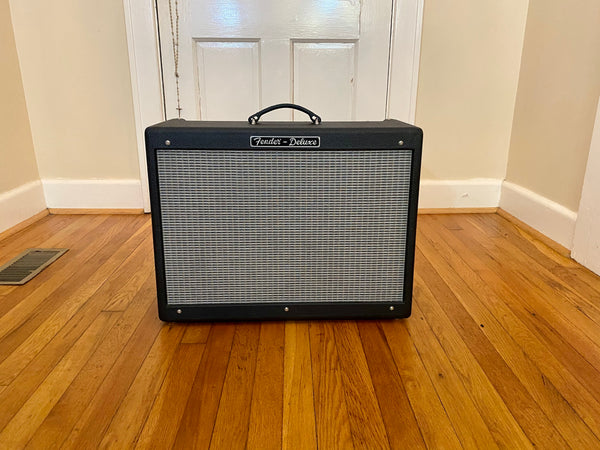 2003 Fender Hot Rod Deluxe PR246 1x12 40W Combo | Super Clean w/ Fresh F&T Filter Caps