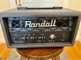 Randall RD1H Diavlo 1w Head | Gray, 12AX7 Preamp, 12AU7 Output, High Gain