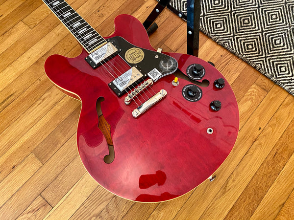 2016 Epiphone ES-335 Pro | Coil Split, Hard Case, Super Clean