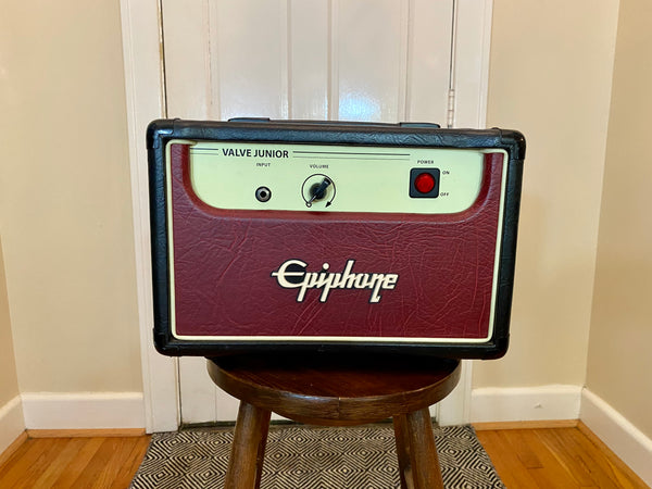 Epiphone Valve Junior 5W All Tube Head | Single Ended EL84, Fresh Filter Caps, JJ Tubes
