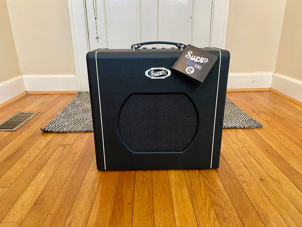 Pristine Supro Blues King 12 | Single Ended 6L6GC 1x12 Combo, Spring Reverb