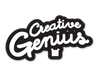 Creative Genius Sticker - Square Bear