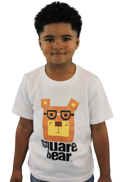 Original Otis Kid's T-Shirt - Square Bear