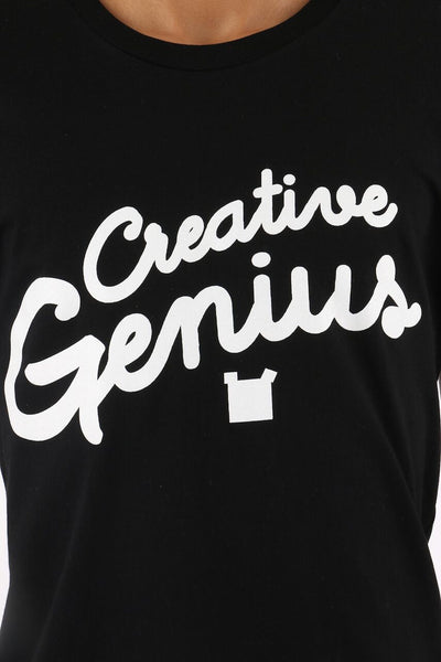Creative Genius T-Shirt - Square Bear