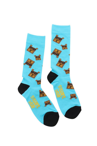 SB Sock Hop Socks - Square Bear