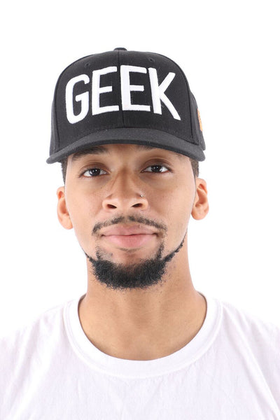 SB Geek Snapback - Square Bear