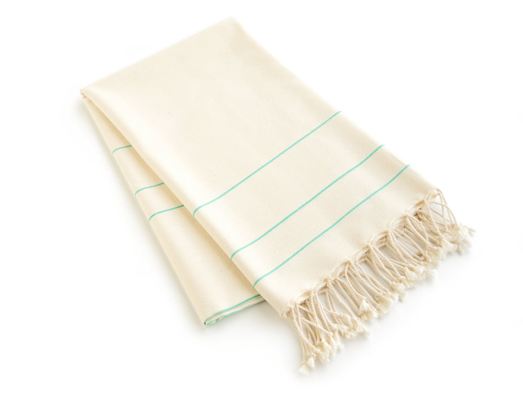 Handmade Cotton Beach Towel Turkish Towel Bridals - Babazen