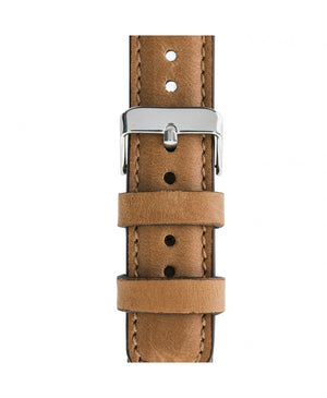 Leather Apple Watch Strap, Tan Color - Babazen