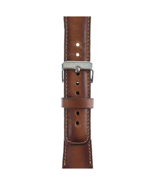 Handmade Genuine Leather Apple Watch Strap, Brown - Babazen
