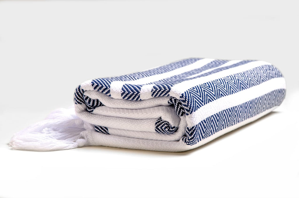 Handloom Cotton Beach Towel Yoga Towel Turkish Towel Hepyek - Babazen