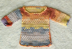 Handmade Toddler Knit Top Kids Crochet Tunic - Babazen