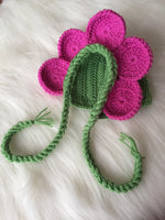 Handmade Flower Baby Costume, Hat Diaper Booties - Babazen