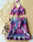 Handmade Boho Kids Beachwear Baby Girl Swimsuit Cover - Babazen