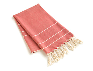 Handmade Cotton Beach Towel Turkish Towel Zeyrek - Babazen