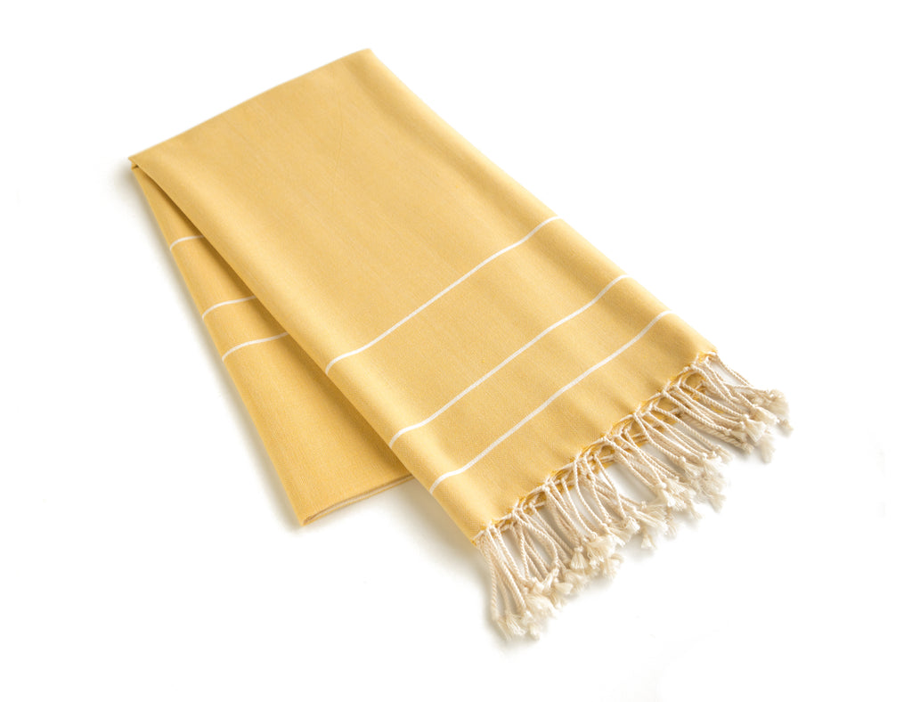Handloom Cotton Beach Towel Turkish Towel Zeyrek - Babazen