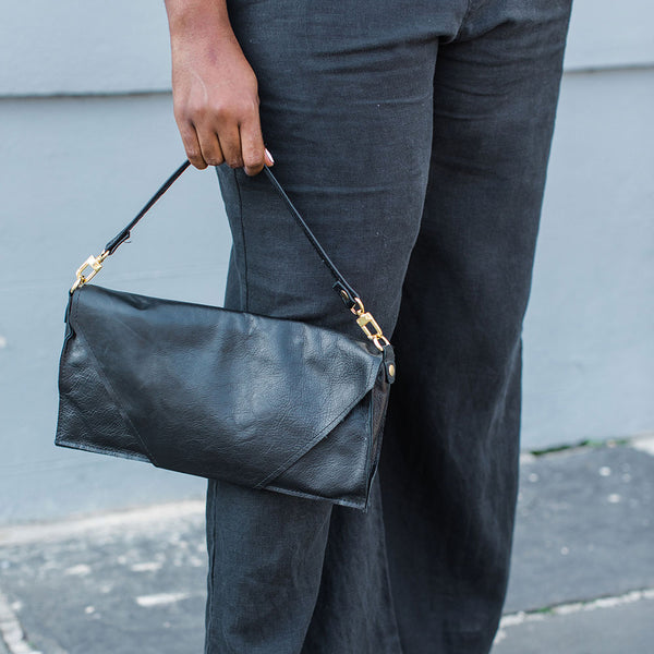 The Fillmore 3-in-1 Clutch: Black