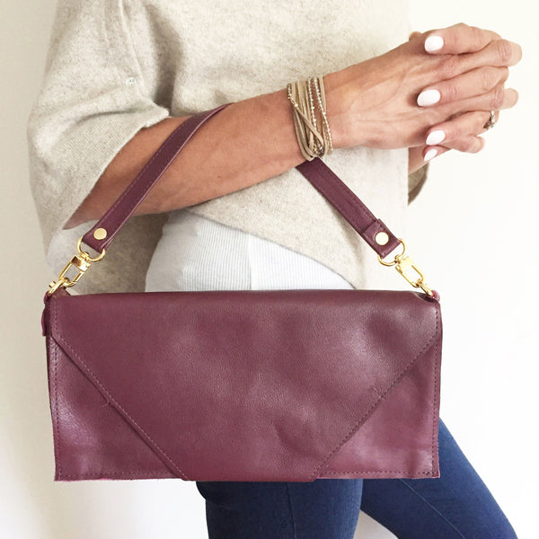 The Fillmore 3-in-1 Clutch: Wine