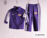 addidas lakers kids track suit
