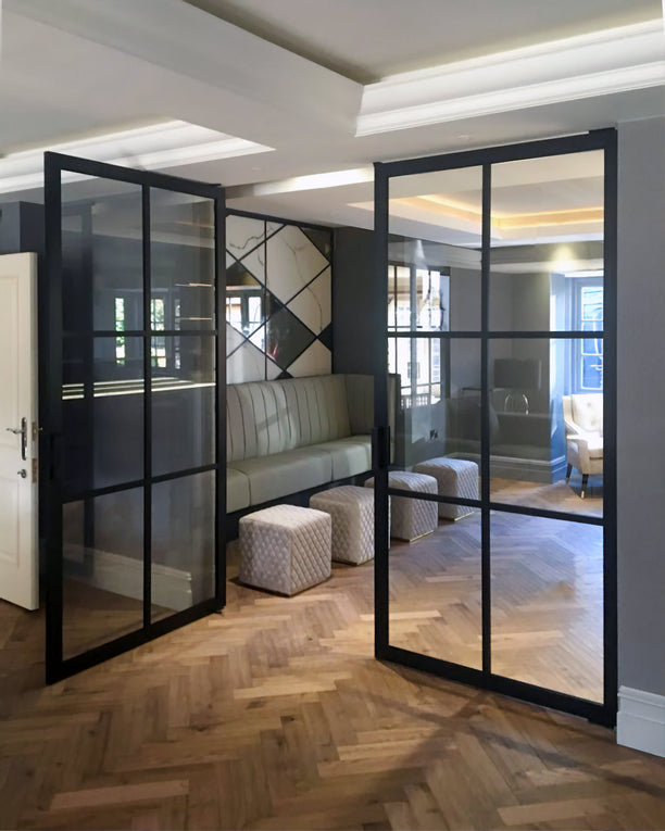 Portapivot 6530 double door by Cheshire bespoke glass & doors UK