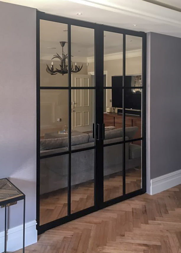 Portapivot 6530 by Cheshire bespoke glass & doors (UK)
