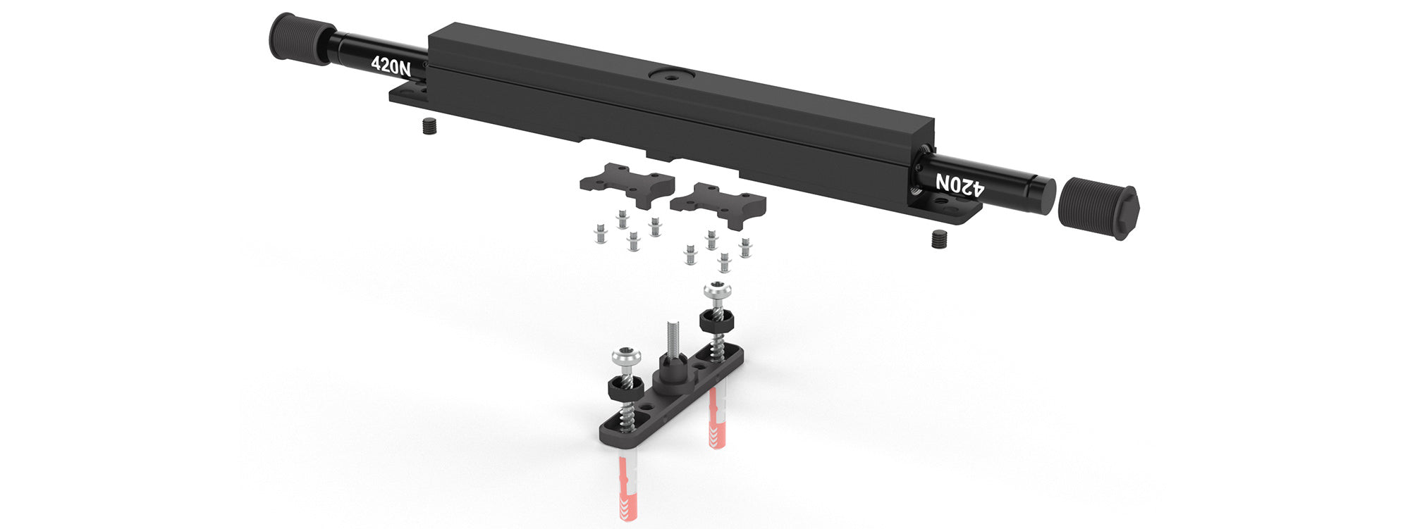 Stealthpivot XL exploded view