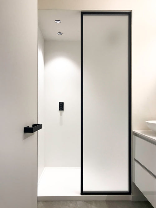 crittall shower partition