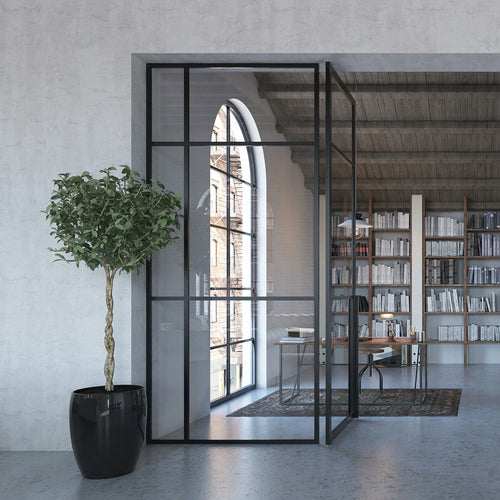 Portapivot 3030 fixed glass partition system