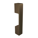Bronze anodized aluminium door handle DG01 vertical