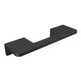 Black anodized aluminium door handle DG02 horizontal