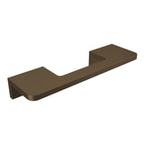 Bronze anodized aluminium door handle DG02 horizontal